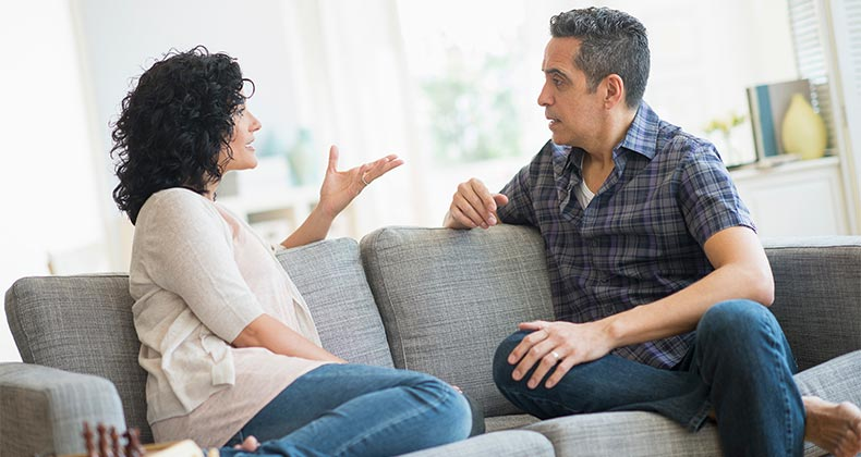 dating a man with financial problems