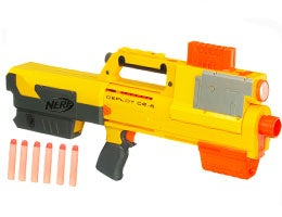 Nerf blasters