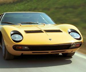 1969 Lamborghini Miura © Lamborghini