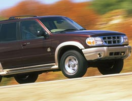 Bridgestone/Firestone tires on 2000 Ford SUVs