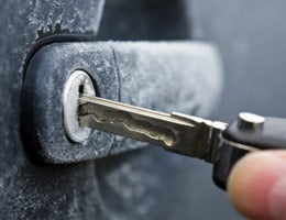 Don't be locked out by frozen door locks