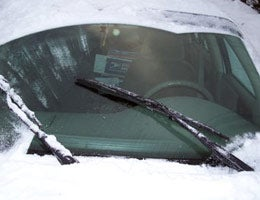 Heated wiper blades