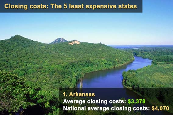 Closing costs: 5 least expensive states