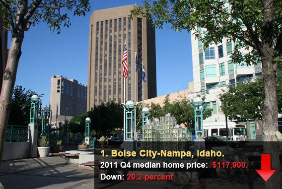 Boise City-Nampa, Idaho.