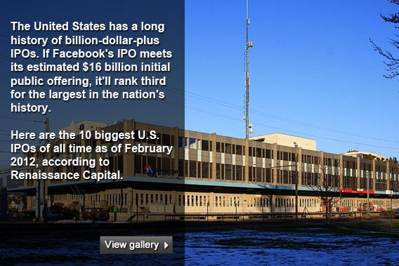 Top 10 biggest US IPOs