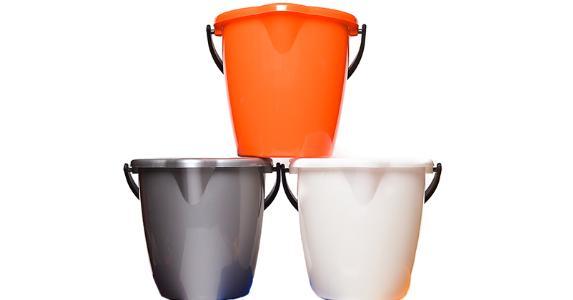 Stacked buckets © Danil Nevsky/Shutterstock.com