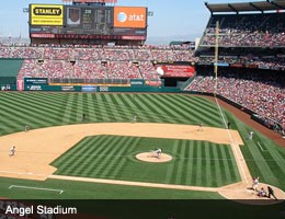 Los Angeles Angels of Anaheim, Angel Stadium