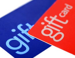 Dig out unused gift cards