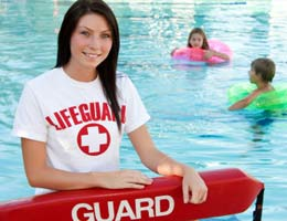 Get in the swim of things as a lifeguard