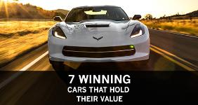 7 winning cars that hold their value  2014 Chevrolet Corvette © General Motors
