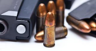 9mm handgun © defpicture/Shutterstock.com