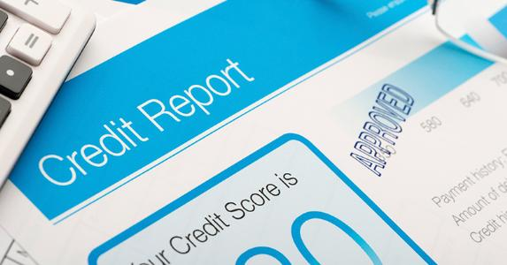 Approved credit report form