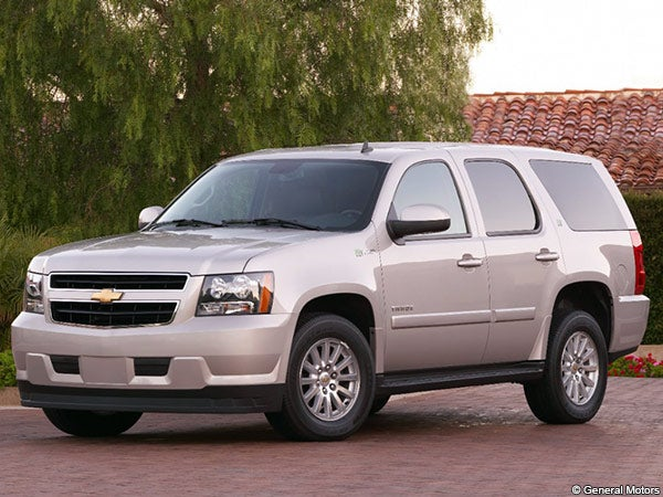 Chevrolet Tahoe hybrid