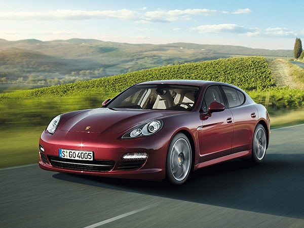Porsche Panamera turbo 4dr 4WD