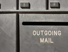 Pay your bill by snail mail