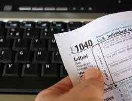 Fees for filing taxes online