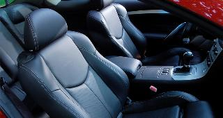 Black leather car interior © Andrey Chmelyov/Shutterstock.com