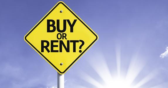Buy or rent sign © Gustavo Frazao/Shutterstock.com