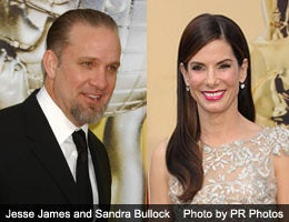 Sandra Bullock and Jesse James: Road burned
