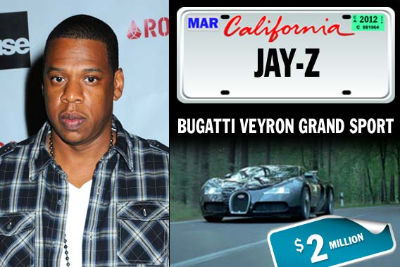 Top celebrities and their pricey rides - Jay-Z