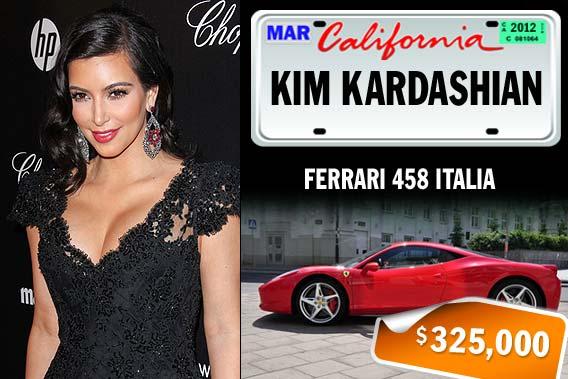 Top celebrities and their pricey rides - Kim Kardashian