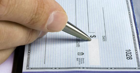 writing check amount