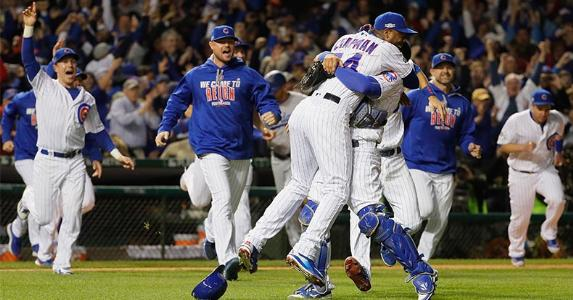 Chicago Cubs wins National League Championship, Oct. 23, 2016 | Jamie Squire/Getty Images