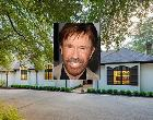 Chuck Norris | Steve Granitz/Getty Images; House: Realtor.com