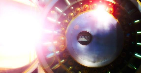 Close up shot of a vault door | Tetra Images/Getty Images