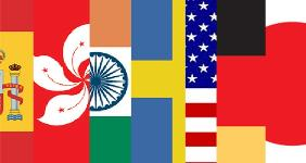 Flags of different countries | Bankrate/Getty Images