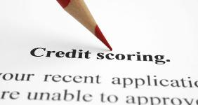 Credit scoring document with red pencil © alexskopje/Shutterstock.com