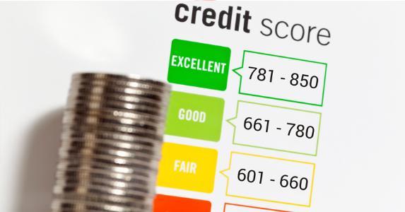 Credit score © iStock