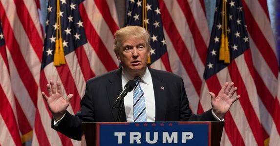 President-elect Donald Trump giving speech   scarletsails/Getty Images