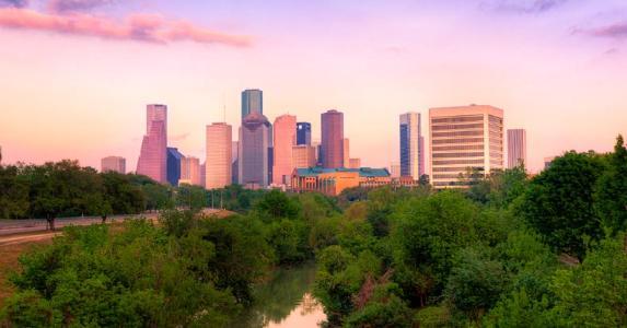 Downtown Houston at sunset © iStock