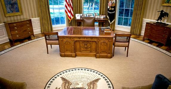 Empty Oval Office | Pool/Getty Images