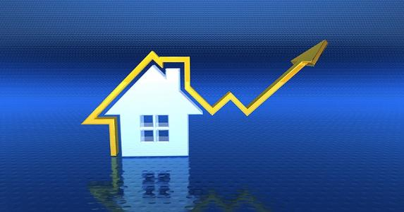 Fever chart on a house with the arrow pointing up | iStock.com