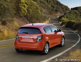 2012 Chevrolet Sonic Hatchback 2LT