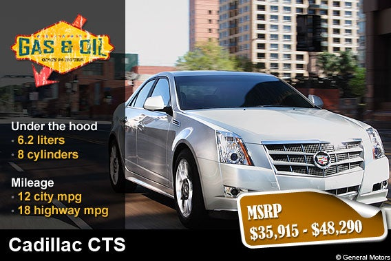 Cadillac Cts Fuel Mileage Cadillac Free Engine Image For