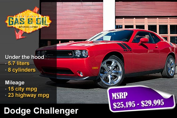 Gas Mileage On Dodge Challenger  Car Insurance Info