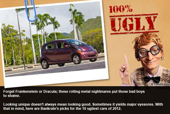 The 10 ugliest cars of 2012