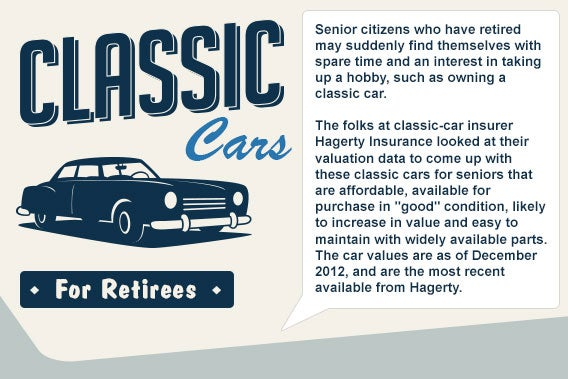 Classic cars for retirees