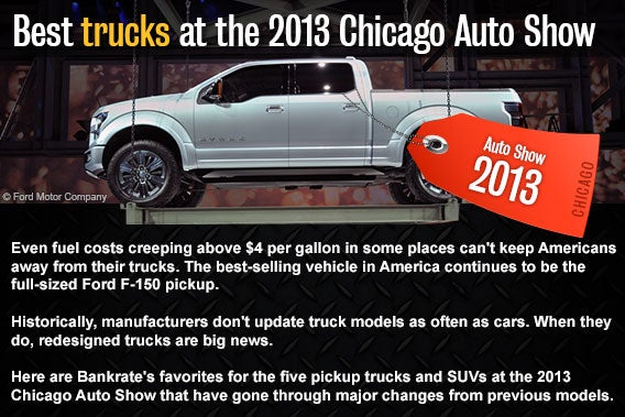2014 Chicago Auto Show: 5 new-look trucks