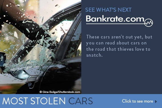 See what's next: 10 Vehicles most often stolen by car thieves