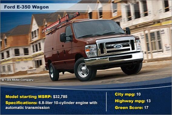Ford E-350 Wagon © Ford Motor Company