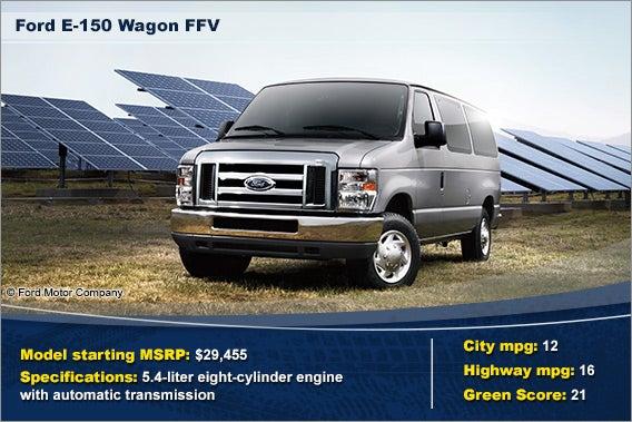 Ford E-150 Wagon FFV © Ford Motor Company