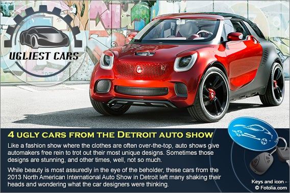 Ugliest cars from the Detroit auto show