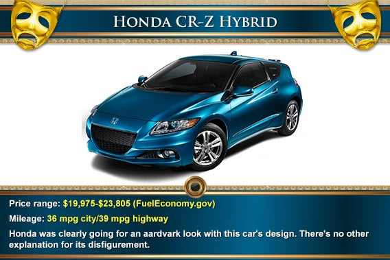 Honda CR-Z Hybrid | Mask: © Natykach Nataliia/Shutterstock.com, decorative elements: © totally out/Shutterstock.com