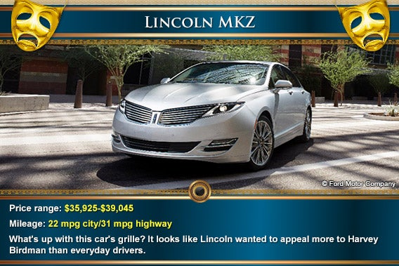 Lincoln MKZ | Mask: © Natykach Nataliia/Shutterstock.com, decorative elements: © totally out/Shutterstock.com