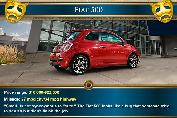 Fiat 500 | Mask: © Natykach Nataliia/Shutterstock.com, decorative elements: © totally out/Shutterstock.com