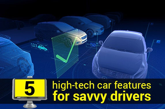 5 high-tech car features for savvy drivers